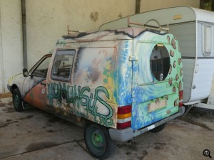 street art car Autoliens Allier